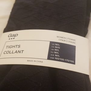 GAP black aryglic tights (size M/L)